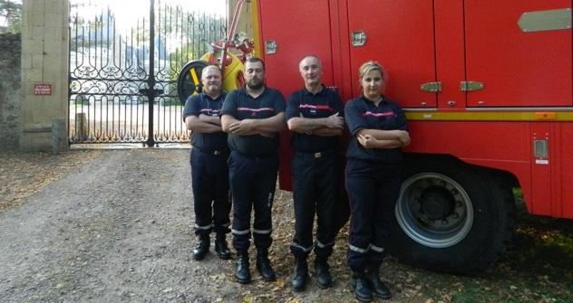 Pompier sarthe